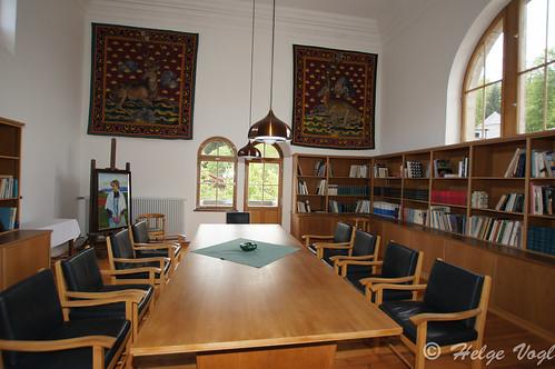Bibliothek auf Schloss Ringberg