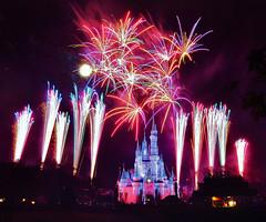Magic Kingdom (wdwSteve) Tags: nikon fireworks magic kingdom disneyworld d90 sigma1750mmf28