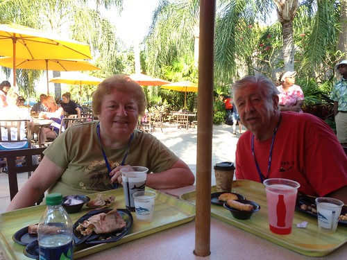 Breakfast at Discovery Cove