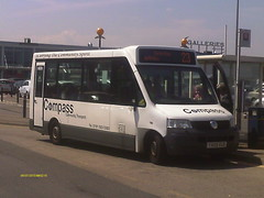 Compass Community Transport's YX09 EUD Bluebird Tucanna on Nexus Service 23 to Barley Mow Estate (2) (North East Malarkey) Tags: flickr buspics buspictures vehicle outdoor explore inexplore google googleimages