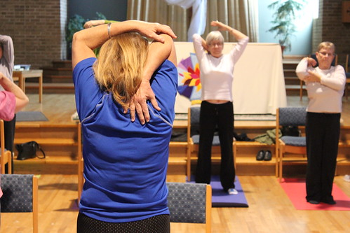 Chair Yoga - Health and Wellness - April 2013 (13)