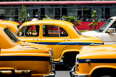 _9266274 (frederik_rowing) Tags: world road street new york trip travel portrait people urban india heritage classic colors car yellow landscape four downtown driving colours traffic metro cab taxi great colonial goa documentary vivid olympus unesco riding busy monsoon lane micro metropolis rushhour ambassador calcutta hampi omd thirds ep1 ep2 ep3 kolkatta mft hindustan 1442 ep5 incredibleindia mirrorless