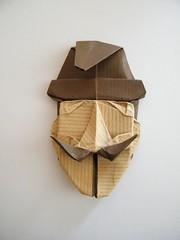Dalí - Felipe Moreno (Rui.Roda) Tags: face origami mask mascara moreno papiroflexia felipe rosto dalí visage masque