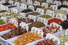 At the Market (**El-Len**) Tags: china flowers market herbs text dried prc script guizhou guiyang fav10 fav25 swchina
