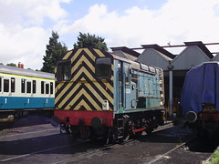 Tunbridge Yard West Depot (mostlybytrain) Tags: heritage train kent railway loco locomotive gala preservation class37 class33