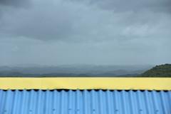 Blue Hills (LarryJay99 ) Tags: cruise blue roof sky mountains clouds horizon hill overcast hills jamaica caribbean royalcaribbean locations bluemountain caribbeansea allureoftheseas canonefs18135mmf3556is allureofthesea ilobsterit