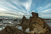 A Boulder View (Ian@NZFlickr) Tags: ocean sea clouds point day pacific cloudy palmerston boulder nz otago shag katiki fleursetpaysages
