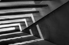 Lines (esteveb) Tags: bw lines architecture lensbaby arquitectura bin línies d7000