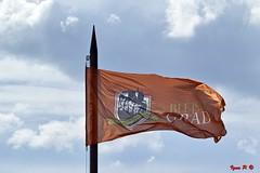 Bled flag (Sigma SD1, Foveon) (BeSigma) Tags: parco lago sigma natura slovenia bled castello vacanza grotte merrill foveon cascata sd1 x3f