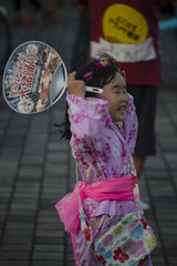 (Einharch) Tags: bon summer festival japan children dance child yukata  yokohama tradition  minatomirai matsuri  odori bonodori           daibonodori