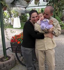 Noa with Sigal and Dan (Dan_lazar) Tags: party dan israel netanya father mother  noa   sigal