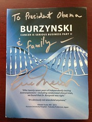 Burzynski: Part II to Pres. Obama