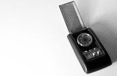 Pop Culture Icon (Craig's Making Pictures) Tags: startrek blackandwhite bw black trek star phone cell communication communicator sonyalpha200