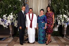 First Citizen's of SL and US (President Mahinda Rajapaksa) Tags: ny newyork lka sl sri lanka government p srilanka ceylon jaffna colombo kilinochchi mahinda rajapaksa llrc shiranthi rajapaka