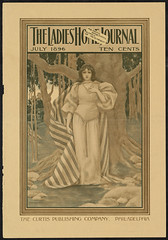 The ladies home journal, July 1896 (Boston Public Library) Tags: women prints magazinecovers