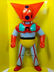Masudaya  Vintage Reprint  Talking Getter Robo ()  Front (My Toy Museum) Tags: vintage talking robo reprint getter masudaya
