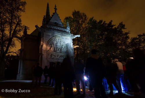 The Sacred Departed: Halloween at Woodlawn Cemetery
