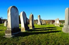 Tombstones (Garden State Hiker) Tags: autumn fall cemetery grave graveyard newjersey nj graves gravestone tombstones