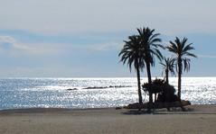 The beach at Garrucha. (alfredotaylor50) Tags: beach spain seascapes almeria garrucha fujifilmfinepixhs20exr
