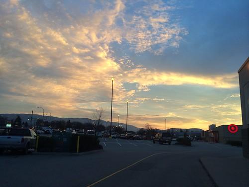 Sonnenuntergang in Vernon