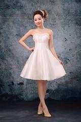 Evening Dress (xnjdwzg@yahoo.cn) Tags: flower up dress handmade mini charming embellished neckline evening zipper sweetheart