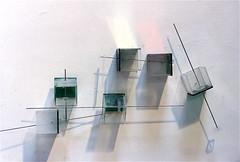 LBDMLCRDC n°182,5  ( 2003 ), plexy, inox, films métalliques. (emmanuelviard75) Tags: mobilité inox plexy