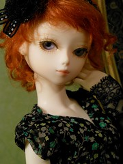 BJD Night 3 (Antiphane) Tags: white doll jasmine bjd resin limited edition msd bluefairy tinyfairy