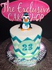 "Penguin Chevron Cake • <a style=""font-size:0.8em;"" href=""http://www.flickr.com/photos/40146061@N06/11998503764/"" target=""_blank"">View on Flickr</a>"