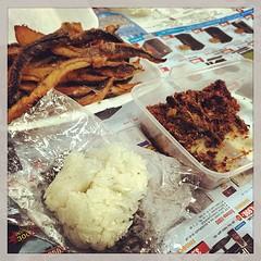 มื้อเช้ากับเมนูไฮโช #ปลาร้าสับ #ปลาย่าง #ข้าวเหนืยว