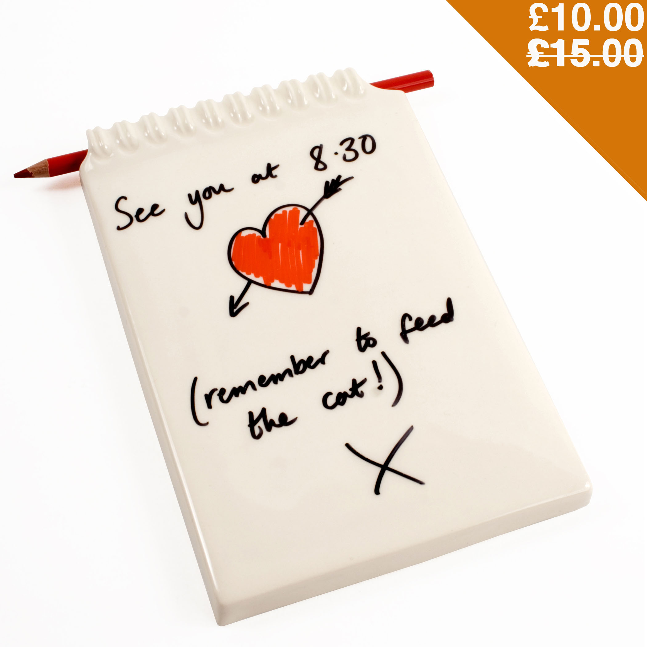 Ceramic Notepad - Sale
