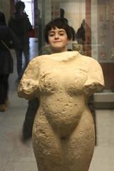 Deserts in a Cultural Oasis (Dark Dwarf) Tags: boy london statue britishmuseum