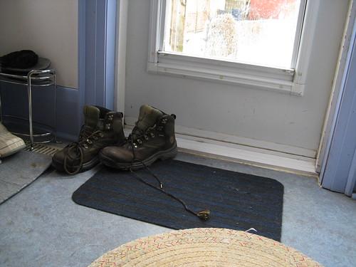 winter boots mat