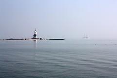 Seaside Silence (YIP2) Tags: lighthouse seascape holland amsterdam landscape island thenetherlands marken ijsselmeer dutchlandscape paardvanmarken horseofmarken
