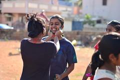 Holi Celebrations! (mynameisharsha) Tags: india love wet water colors festival happy riot nikon colorful indian bangalore culture laughter hebbal tradition splash hindu incredible holi colorsplash 50mmf18af festivalofcolors kempapura d7100 mynameisharsha