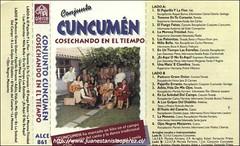 Conjunto Folclórico Cuncumén, Región Metropolitana, grabó 2 ejemplos musicales tradicionales recopilados por mi en la IV y V regiones de Chile.
