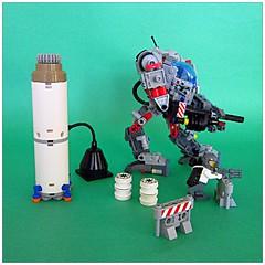 "Mech Unit 6538 - ""Nephilim Class"" Vig (~Mr. D~) Tags: fall giant robot cool lego battle fighting titan mecha mech nephilim titanfall"