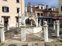Capodistria, la fontana Da Ponte