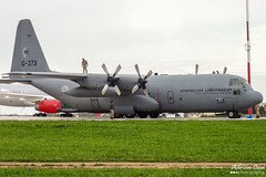 Royal Netherlands Air Force --- Lockheed C-130H-30 Hercules --- G-273 (Drinu C) Tags: plane aircraft military sony lockheed dsc hercules c130 mla royalnetherlandsairforce lmml g273 hx9v adrianciliaphotography
