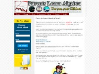 Parents Learn Algebra – in Plain English (CarolJ Thompson) Tags: word for parents education geometry exams math teach solving problems exam tests algebra fractions trigonometry