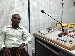 Interview with GTF trainee journalist in Mwanza, Tanzania