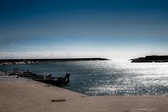 harbour of light (Alex Schraufstetter Photographer) Tags: light sea sky clouds landscape boat nikon harbour d700