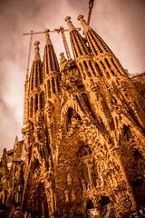 Sagrada Famlia (andryn2006) Tags: barcelona church spain cathedral catalonia artnouveau gaudi catalan sagradafamlia modernista nativityfacade