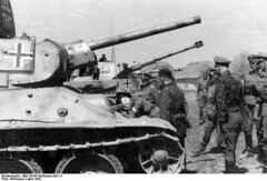 """Das Reich captured T-34 tanks • <a style=""""font-size:0.8em;"""" href=""""http://www.flickr.com/photos/81723459@N04/14271401854/"""" target=""""_blank"""">View on Flickr</a>"""