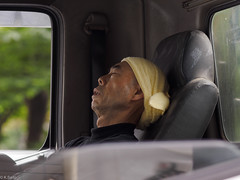 siesta [explored] (kasa51) Tags: street people japan tokyo nap candid siesta atwork