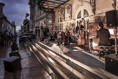 Milonga Swing (Claudia Pino) Tags: atardecer calle colombia bogotá tango frio lluvioso airelibre teatrocolón quinteto centrodebogotá canon6d culturaciudadana claudiapino quintetoleopoldofederico elplaneselcoloncallecolon