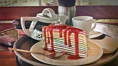 Crape Cake at Mae Lay Cafe (กาแฟสดแม่เล)