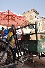 You can't hide (Thorsten Reiprich) Tags: africa city boy people urban travelling sunshine bicycle spring market small egypt heat assuan