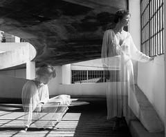 . (Sandy Phimester) Tags: portrait mamiya film analog exposure doubleexposure double ilford fp4 rz67