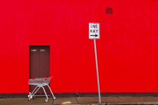 Red wrong way