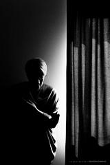 Light... (CarolienCadoni..) Tags: sonyslta99 sal50f14 50mmf14 selfie me light monochroom blackandwhite